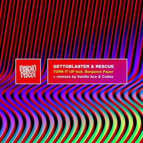 GETTOBLASTER & RESCUE RELEASE NEW EP: